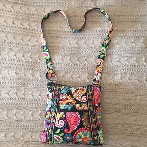 Vera Bradley Disney Midnight Mickey Hipster Bag